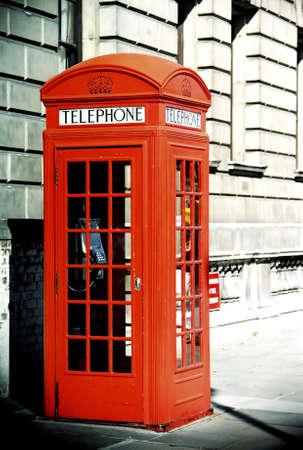 cabina telefono: Cabina telef�nica, Londres, Inglaterra.