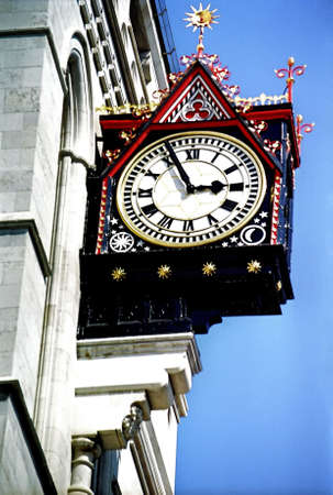 Street clock, London. Stock Photo - 3190952