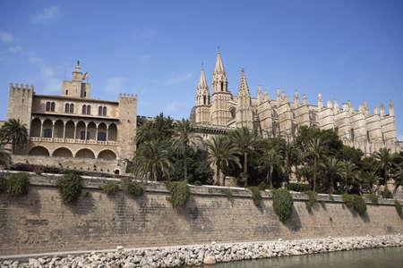 Bellver Castle, 14th century, Palma de Mallorca, Majorca, Balearic Islands, Spain. Stock Photo - 3190966