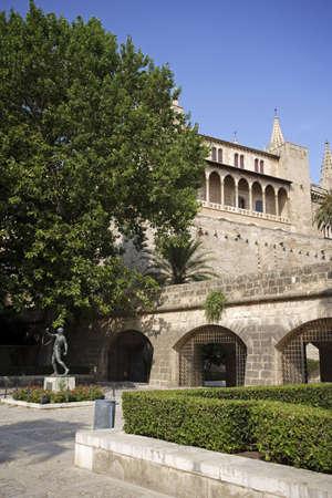 Bellver Castle, 14th century, Palma de Mallorca, Majorca, Balearic Islands, Spain. Stock Photo - 3190967