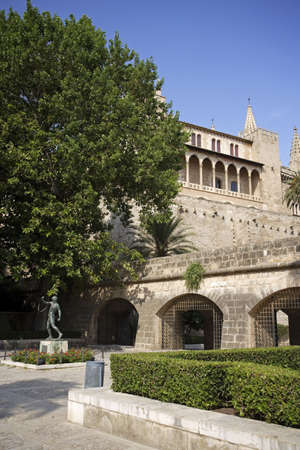 fourteenth: Bellver Castle, 14th century, Palma de Mallorca, Majorca, Balearic Islands, Spain. LANG_EVOIMAGES