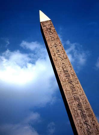 Cleopatra's Needle, Paris, France. Stock Photo - 3190980