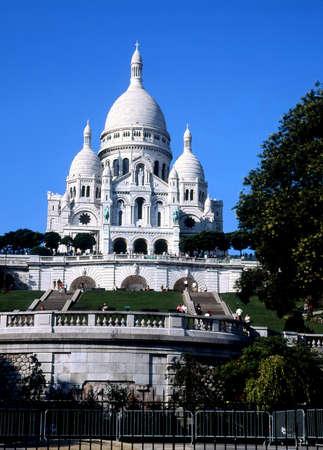 Basilica of Sacré Cœur, Paris, France.