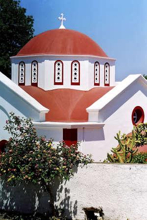 Church in Greece. Stock Photo - 3190987