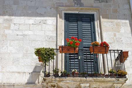 balcony door: Edificio balc�n.