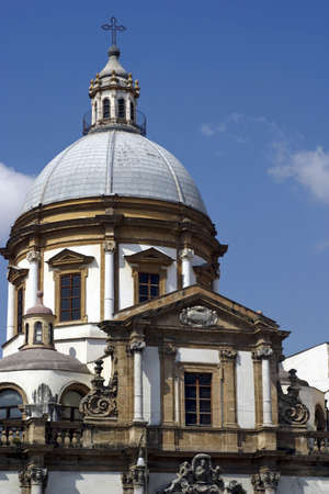 Church in Sicily, Southern Italy.