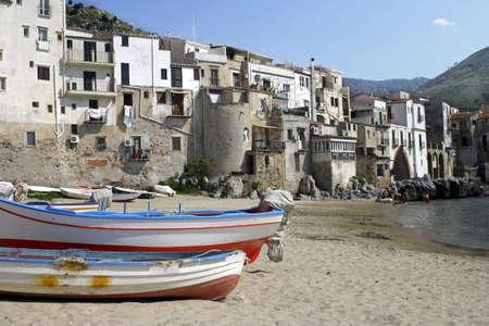 Cefalù, Sicily, Italy. Stock Photo - 3191044