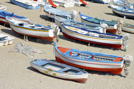 Boats on the beach. LANG_EVOIMAGES