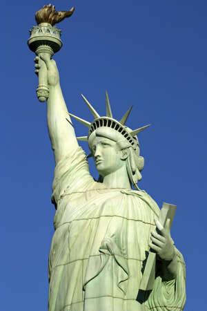 immigrants: Statue of Liberty, USA.