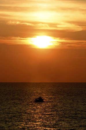 phenomena: Panaromic sunset.