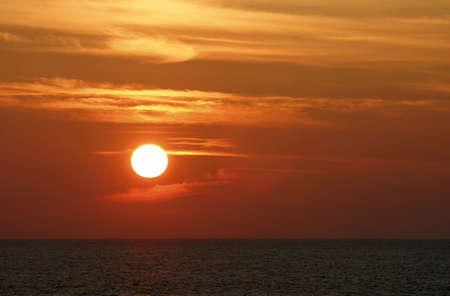 Panaromic sunset. Stock Photo - 3191101