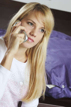 Woman talking on the mobile phone. Stock Photo - 3191354