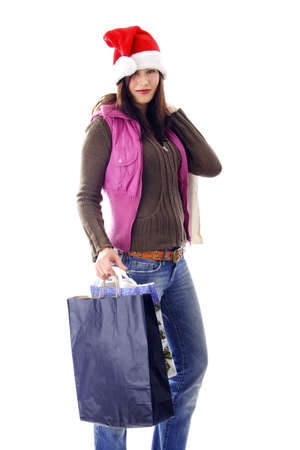 Woman holding shopping bags Stock Photo - 3191982