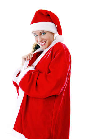 Sexy woman in santa suit Stock Photo - 3191999