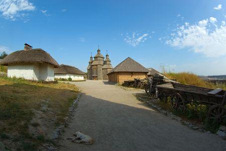In Zaporozhye Sech.