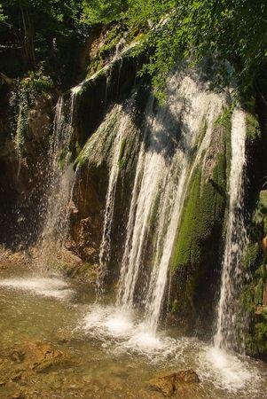 Waterfall Djur-Jur Stock Photo