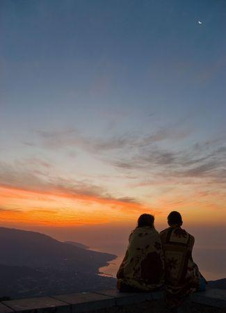 Meeting the dawn