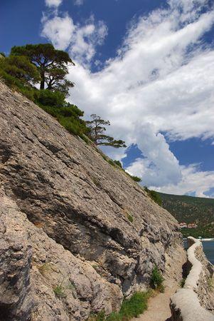 The trail Golitsyn