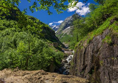 Caucasus, Dombay, Devils Mill