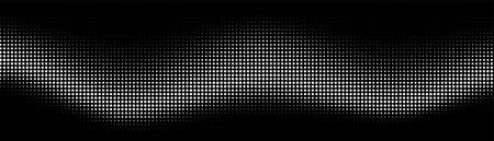 Halftone background. Gradient vintage dots background. Abstract texture with black particles. Illustration