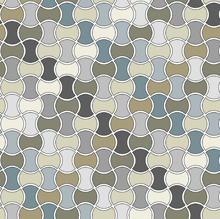seamlessly: Seamless vector pattern with tiles