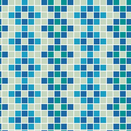 seamlessly: Motley tiles. Seamless vector pattern