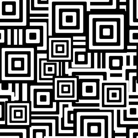 uncolored: Retro en blanco y negro sin fisuras rect�ngulos de fondo