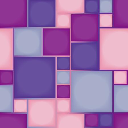 Seamless violet tile pattern Vector
