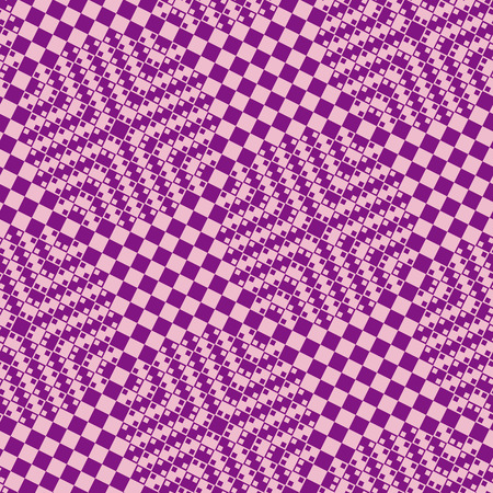 Violet tiles with 3d effect - seamless vector pattern Vector
