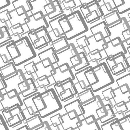 greyscale: Retro greyscale seamless rectangles background Illustration