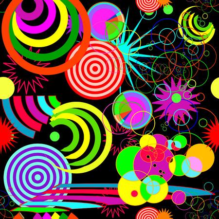 Seamless vif abstrait arrière-plan Vecteurs