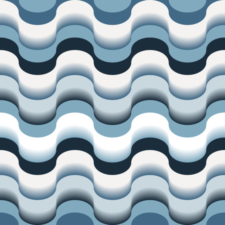 meshwork: Seamless abstract blue swirl texture Illustration