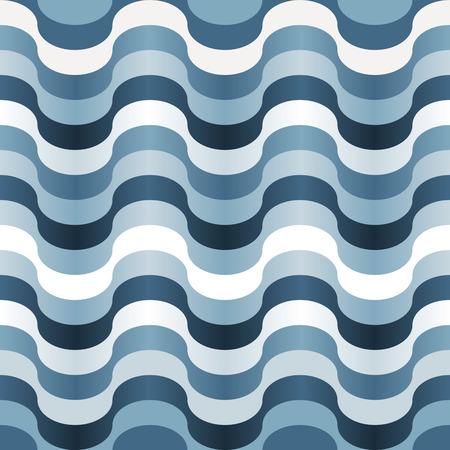 Nahtlose abstrakte Blue wirbeln Textur  Vektorgrafik