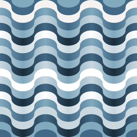 seamlessly: Seamless abstract blue swirl texture Illustration