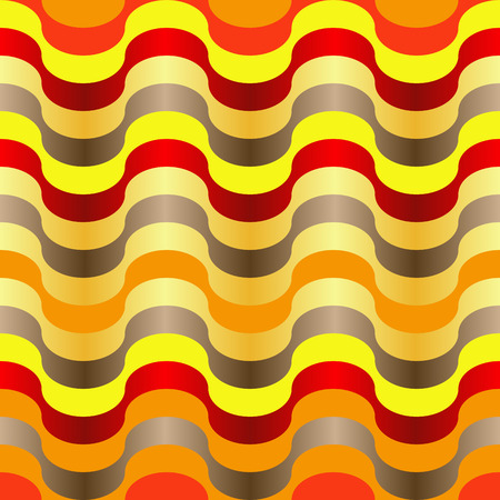Seamless abstract orange swirl texture Vector