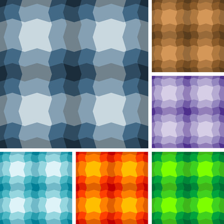 madras: Big collection of seamless plaid patterns