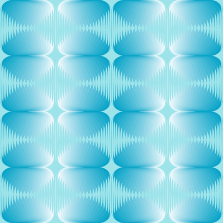 Seamless halftone blue background Vector