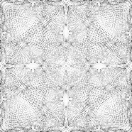 Seamless halftone grey background Vector
