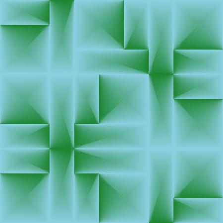 Seamless green tile pattern Vector