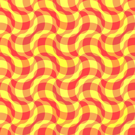 Seamless yellow textile pattern Vector