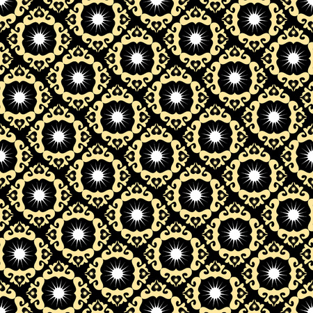 seamlessly: Seamless magic ornament vector pattern