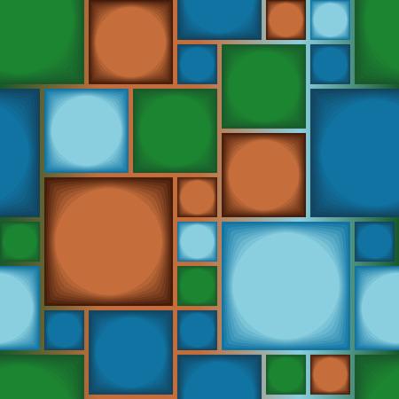 Seamless modern tile pattern Vector