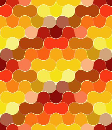 Seamless orange bulb pattern Stock Vector - 3927851
