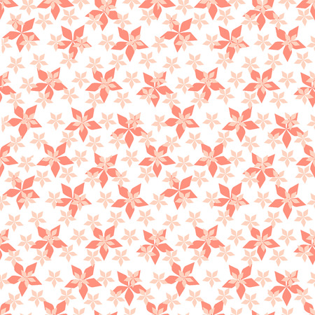 Vector Floral seamless background Vector