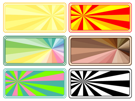 Vector banners colorful collection Stock Vector - 4311331