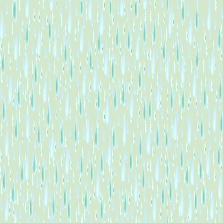 Vector seamless rain background Stock Vector - 4311349