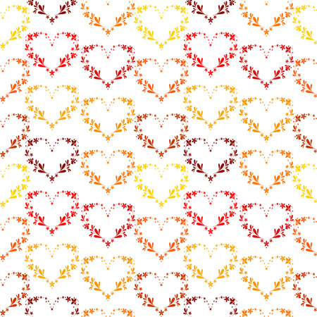 Vector seamless valentine background Vector