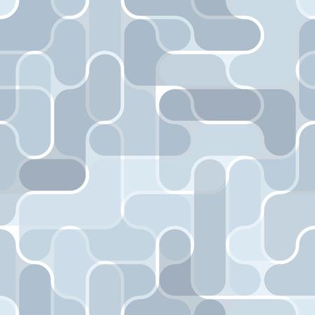 Seamless blue bulb pattern Vector