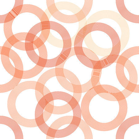 Stylish pattern with red circles Vector