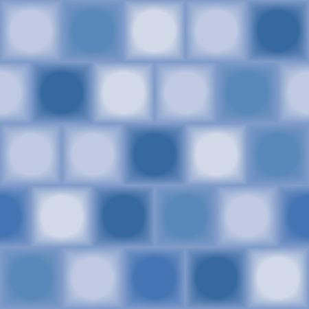 Blue tiles. Seamless vector pattern Vector
